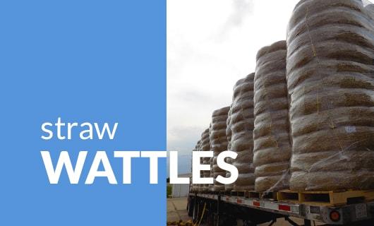 Straw Wattles